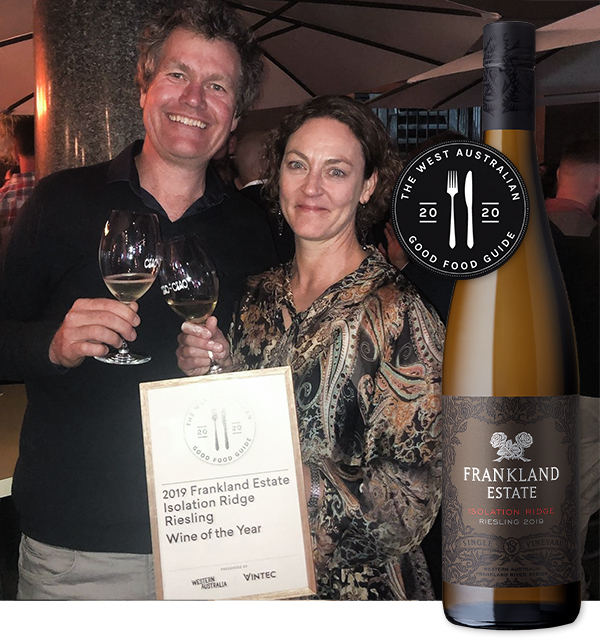 Elizabeth-Smith-and-Brian-Kent-accept-wine-of-the-year-award